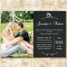Wedding Announcement Photo Cards Special Chalk Board Spring Photo Wedding Announcements Cards Ewa008
