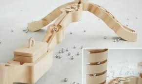 wooden marble run toy plans wooden designs