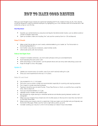 How To Update A Resume Resume For Study