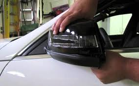 how to repair your mercedes mirror