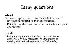 earthquakes and volcanoes essay essay on earthquakes top 5 essays on earthquakes geography
