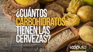 cuántos carbohidratos tienen las