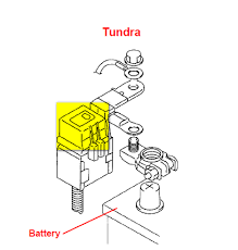 tundra cab towing kit is located engine compartment graphic