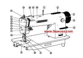 Chandler Dy 337 Industrial Sewing Machine