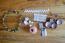 diy flower dog collar for wedding 1
