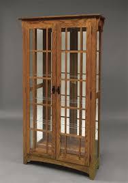 two door curio cabinet