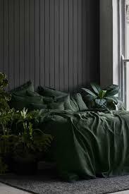 forest green duvet cover