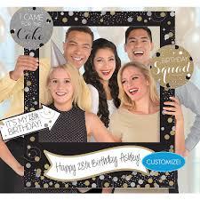 Giant Sparkling Celebration Birthday Photo Frame Kit 30in X 35in