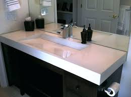 double sink trough trough sinks for bathrooms attractive bathroom double sink faucets pertaining to double trough