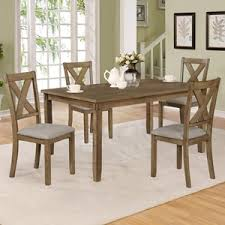 crown mark clara 5 piece table and chairs set