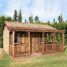 cedarshed farmhouse 16 ft x 12 ft cedar
