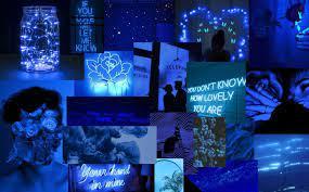 Blue wallpaper PC