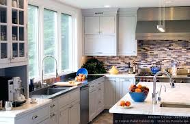 transitional kitchen ideas. Transitional Style Kitchen Design With Shaker Cabinets Ideas