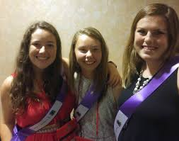 elizabeth dean erin dillon and kate hice inducted into the nc 4 h