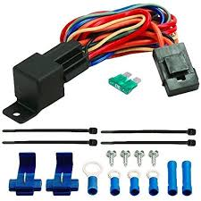 american volt 60a relay wire harness dual 12 volt electric american volt 60a relay wire harness dual 12
