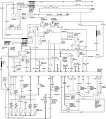 1987 ford ranger body wiring diagram schematic inside 95