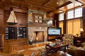 wooden tv trays family room traditional with area rug built in media center coffee table coffered