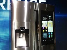 samsung tv refrigerator. just like a number of samsung\u0027s previous takes on the smart fridge, family hub samsung tv refrigerator f