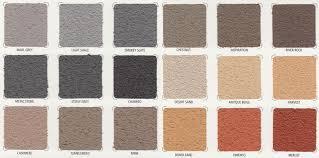 Resurfacing Colour Chart Concrete Colour Solutions