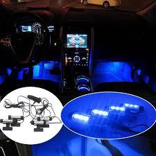 Blue Led Lights For Car Us 4 17 21 Off Possbay Blue Led Car Interior Light Decorative Atmosphere Light Led Lamp For Bmw Vw Peugeot Skoda Toyota Car Dash Floor Light In