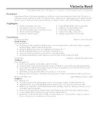 Waitress Resume Example Gorgeous Waitress Resume Samples Resume Waitress Example Sample Cover Letter