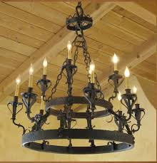 new wrought iron chandeliers intended for c 01 santa barbara spanish style chandelier haskell