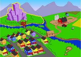 Urban Suburban Rural Communities