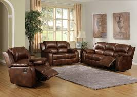 Top Grain Leather Living Room Set Sofa And Recliner Sets Living Room Stylish Fixed Fabric Sofassofa