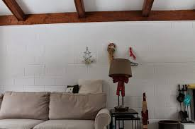 Paint Cinder Block Wall Cosy Carolina Playing With Art