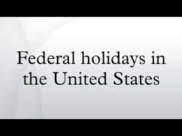 「federal holiday in the United States」の画像検索結果