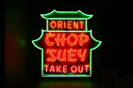 chinese restaurant sign. Delighful Chinese A Neon Sign Advertising A Chinese Restaurant With Restaurant Sign E