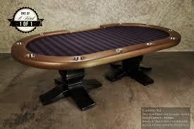 custom poker tables. IShowroom Custom Capote Casino X2 Poker Table Tables O