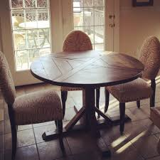 cabinet surprising round farmhouse kitchen table 19 dining plans white and chairs for sets style farm
