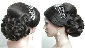 Bridal Hairstyle For Long Hair Tutorial Prom Updo Step By Step