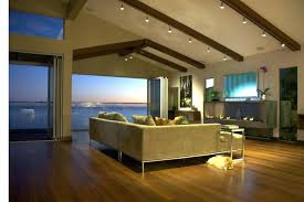 track lighting kitchen sloped ceiling for designs home theater theatre