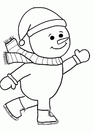 Small Picture Snowman Coloring Pages Free Printable 44088 plaaco