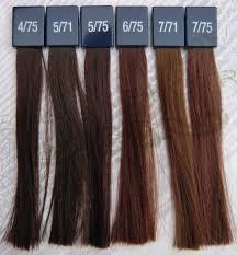 Wella Red Colour Chart Wella Koleston 5 Deep Browns In 2019 Brown Hair Colors