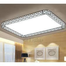 flush mount fluorescent kitchen lighting square ceiling light fixtures led