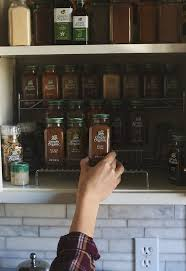 Organic Spice Rack Impressive How To Organize Your Spices The Healthy Maven