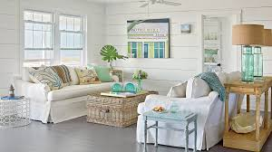 style living room furniture cottage. sea glassinspired lamps and decorative accessories bring the color of ocean into this style living room furniture cottage