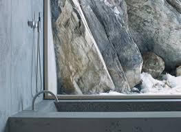 Concrete Cabin Concrete Log Cabin In The Swiss Alps By Nickisch Sano Walder