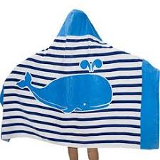 kids hooded beach towels. SearchI 100% Cotton 400 GSM Hooded Poncho Towel For Kids,Dolphin Cute Cartoon Beach Kids Towels