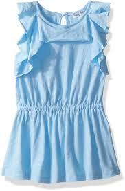 Splendid Big Girls Flounce Dress Blue Bell 14 Price In