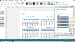 Create A Calendar Template Calendar Template In Microsoft Word 2010 Printable