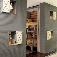 cool bunk beds for 4. Four Kids One Room Bunk Beds Modern Design Ideas 3 Cool For 4
