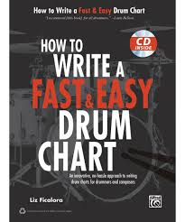 How To Write A Fast And Easy Drum Chart Alfred How To Write A Fast Easy Drum Chart Book Cd