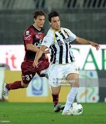 Ivan Castiglia of Reggina and Filippo Boniperti of Ascoli in action... News  Photo - Getty Images