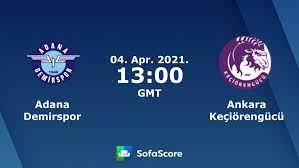 Adana Demirspor Ankara Keçiörengücü Live Ticker und Live Stream - SofaScore