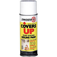 white ceiling paintZinnser 03688 Covers Up Stain Sealing Ceiling Paint White