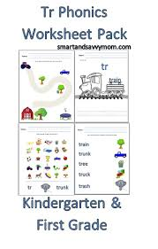 Phonics worksheets and online activities. Tr Phonics Blend Free Printable Worksheet Pack Smart And Savvy Mom